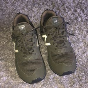 Olive new balance sneakers